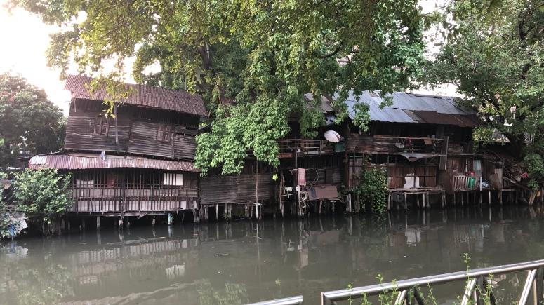 Huisjes in Bangkok...